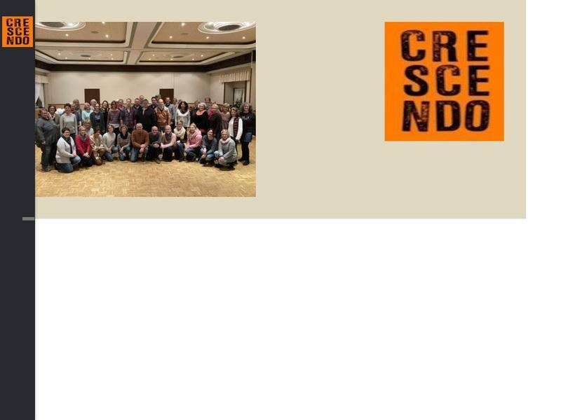 Screenshot von http://www.crescendochor.de